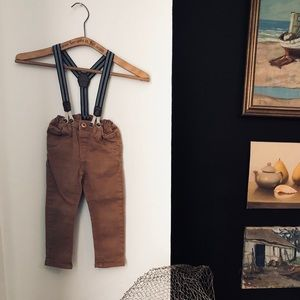 Other - Suspender Khakis (2T)